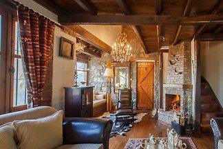Villa für 9 Personen nahe Skigebiet in Agios...