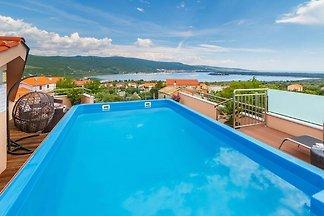 Gemütliche Villa in Kornic Krk, Kroatien