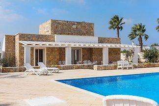 Freistehende Villa für 10 Personen mit privat...