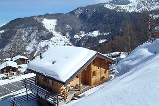 Chalet confortable à La Tzoumaz avec terrasse...