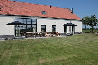 Elegant Farmhouse in Zuidzande with Private...