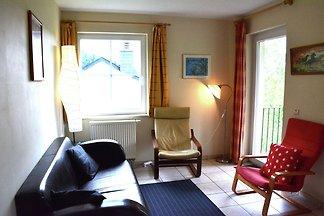 Apartment mit Hügelblick und Terrasse in...