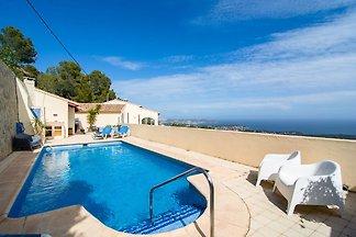Gemütliche Villa in Benissa mit eigenem Pool