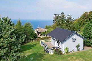 Modernes Ferienhaus mit Terrasse in Hasle