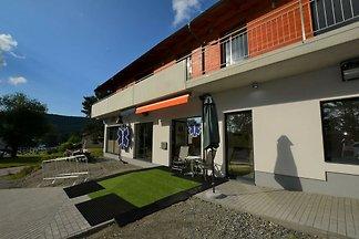 Moderne Wohnung in Lipno 200 m vom Ufer und 8...
