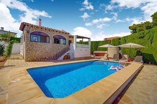 Serene Villa in Calpe with Private Swimming...