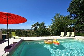 Hochmoderne Villa mit beheizbarem Schwimmbad ...