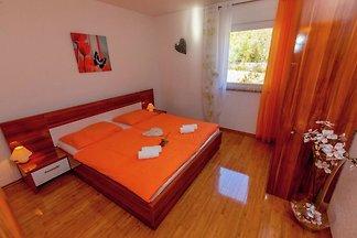 Ruhiges Appartement in Dramalj mit Whirlpool