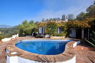 Moderne Villa mit privatem Pool in Sayalonga