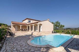 Schöne Villa in Oupia mit privatem...