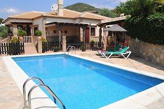 Traditionelle Villa in Andalusien mit Privatt...