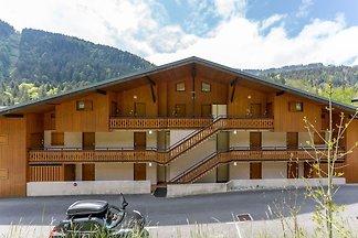 Einladende Wohnung in Morzine mit Balkon