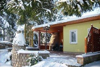 Vintage-Ferienhaus mit Terrasse in Trieb