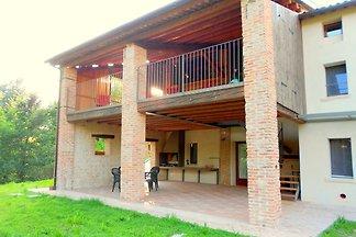 Modernes Bauernhaus in Waldnähe in Pagnano,...