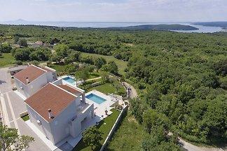 Ruhige Villa in Stanisovi mit Meerblick