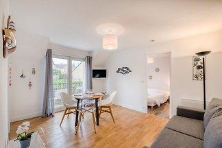 Appartement confortable à Port-en-Bessin-Hupp...