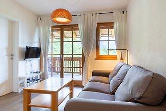 Modernes Appartement in Skigebietnähe in...