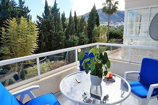 Boutique-Ferienwohnung mit Pool in L'Albir