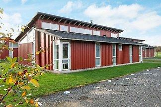 Modernes Ferienhaus auf Fünen mit Sauna