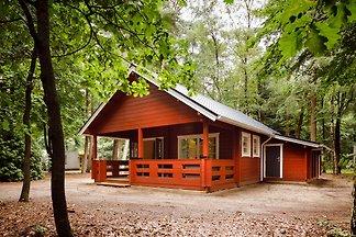 Gemütliche, Holz-Lodge mit Veranda, in der...