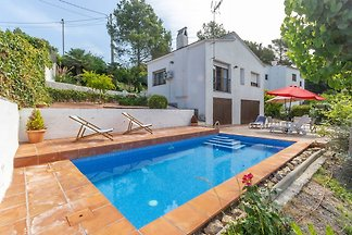 Welcoming Villa in Olivella with Swimming...