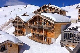 Authentische Ferienwohnung im Skigebiet Le Gr...