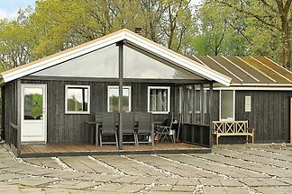 Rustikales Ferienhaus in Ansager nahe dem...
