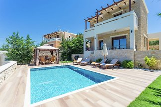 Luxuriöse Villa in Arkadi, Kreta mit privatem...