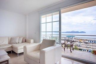 Moderne Wohnung in Can Picafort schöne Aussic...