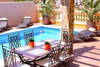 Moderne Villa in der Cala Romantica mit eigen...