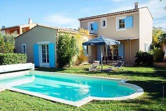 Provenzalische Luxus-Villa mit Blick auf den...
