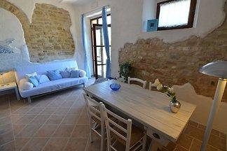 Ländliche Wohnung in Pergola mit einem schöne...