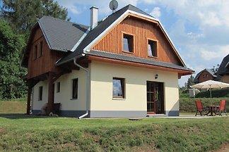Modernes Ferienhaus in Dolníky mit eigenem...