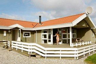Luftiges Ferienhaus in Børkop mit Sauna