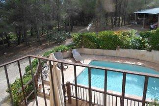 Wohliges Cottage in Renau, Costa Dorada, über...