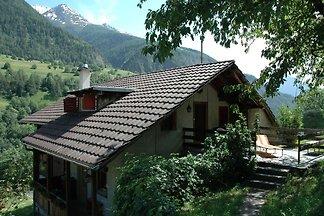 Chalet in Mörel with Terrace, Parking, Garden...