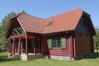 Holzhäuschen in Czarny Mlyn mit Garten und...