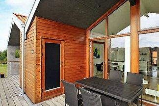 Modernes Ferienhaus mit Grillplatz in Bogense