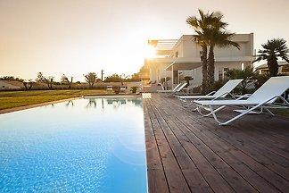 Bezaubernde Villa mit Meeresblick in Sizilien...