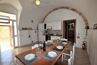Schönes Ferienhaus in Ragusa mit Heizung