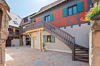 Angenehme Wohnung in Dambach-la-Ville in der ...