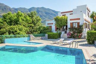 Moderne Villa mit Swimmingpool in Lefkogia...