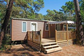 Simple mobile home near the beach on the isla...