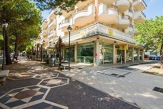 Apartmenthaus im Touristenzentrum von Riccion...