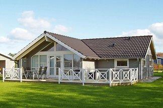 Gemütliches Ferienhaus in Vinderup mit Sauna