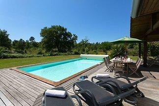 Schöne Villa mit Privatpool am Atlantik