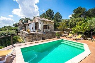 Gemütliches Ferienhaus in Selva mit privatem...