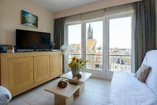 Schlichte Wohnung in Blankenberghe nahe des B...