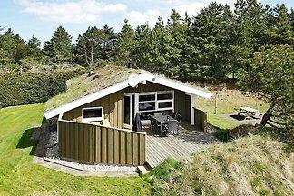 Luxe vakantiehuis in Blokhus met veendak