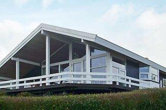 Modernes Ferienhaus in Jütland mit Blick auf ...